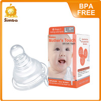 Mother Touch Anti-Colic Silicone Nipple - Standard L