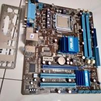 Paket Motherboard G41 Ddr3 ASUS GIGABYTE + Core 2 Quad Q8300