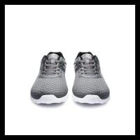 Ardiles Men Enoki Sepatu Running - Abu Putih - Abu Putih, 38 Bermutu