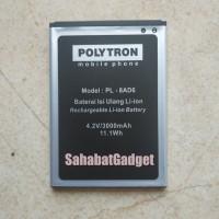 Baterai Polytron PL-8AD6 Wizard Quadra V W7531 Battery Polytron PL8AD6