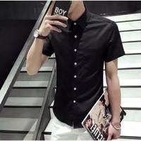 Kemeja Billy PDK - Bahan Katun Strech - Pakaian / Baju Pria / Cowok