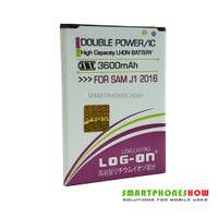 Baterai LOGON Double Power Samsung Galaxy J1 2016 SM-J120F