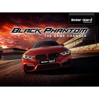 Solar gard BLACK PHANTOM Garansi Resmi FULL kaca Medium car