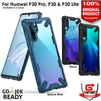 Case Huawei P30 Pro / P30 Ringke Fusion X Case Anti Crack Original - Blue, P30