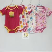 Baju Bayi / Baby Jumper Suit Libby for 3-6 month perset 4pcs