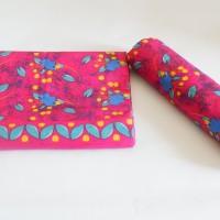 Kain Batik Motif Kremunting Pink (Cetak)