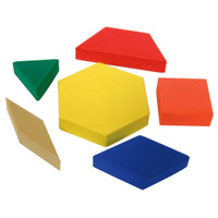 TCR Foam Pattern Blocks (42pcs)