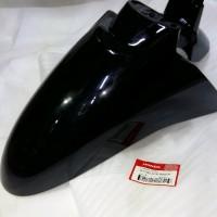 Spakbor Depan Scoopy injection FI Hitam Orisinil HGP