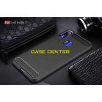 COVER RUGGED CARBON XIAOMI REDMI NOTE 7 7 PRO HARDCASE BACK CASING