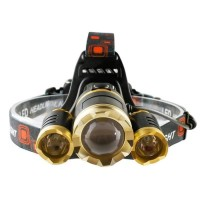 Headlamp senter kepala LED cree XML T6 10000 lumens
