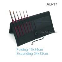 V-Tec Paint Brush Organizer AB-17 / Dompet Kuas Lukis / Art Bag