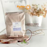 Pipiltin Cocoa NIBS 1kg origin Pidie Jaya ACEH Biji Cokelat Cacao Nibs