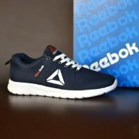 Sepatu Sport Sneakers Pria Reebok Speedlux Running Biru Navy