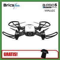 Bricanova B-PRO5 SE Wallee Drone - White - Bonus T-Shirt