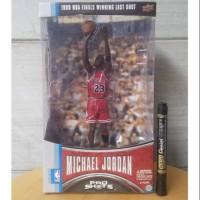mainan action figure michael jordan pro shots NBA player series chica