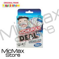 Monopoly Deal Card Game Original Hasbro
