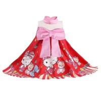 Dress Anak Perempuan Hello Kitty With Teddy