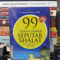 Buku H Abdul Somad 99 Tanya Jawab Seputar Shalat