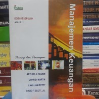 Buku MANAJEMEN KEUANGAN Edisi Kesepuluh Jilid 1 By Arthur J Keown