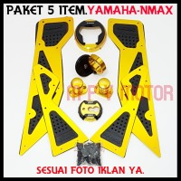 0AKET HEMAT YAMAHA/NMAX 5 ITEM ACCESORIES MOTOR