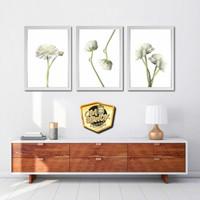 Set dekorasi hiasan dinding bunga 3 - scandinavian minimalis tropical