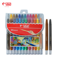 Twist Crayon / Krayon Putar TiTi TI-CP-24 Mini / 24 Warna / Colors