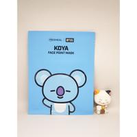 MEDIHEAL BT21 Face Point Mask Sheet KOYA (1PC) - 100% ORIGINAL KOREA!