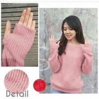 Sweater Wanita Roundhand Sweater Dusty Tafj.109