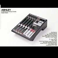 MIXER AUDIO ASHLEY MDX 4/MDX4 4CH USB,MP3,BLUETOOTH ORIGINAL