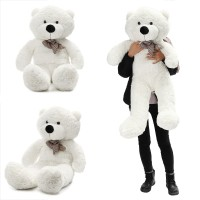Terlaris 140cm/55 Inch Semi-Finished Giant Big Unstuffed Teddy Bear
