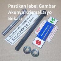 Baut Set Motor Monoshock Satria Hiu /Lumba Sgp