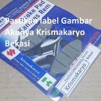 Kampas Rem Motor Cakram Motor Satria Hiu /Lumba Sgp