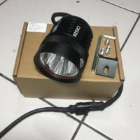 led sorot cree xml 4 mata. led offroad super terang casing full alu