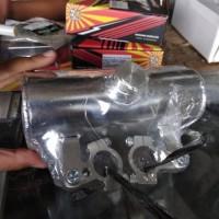 tangki drag bike depan OVAL B pro racing bahan almu alumunium tanki