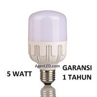 Lampu LED 5W Bohlam 5 w watt Putih Bulb jumbo 3 4 5 6 8