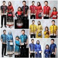 Promo Baju batik couple keluarga baju batik sarimbit - Adelia Madura