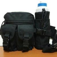 Tas Sepeda Pinggang + Sarung Botol Model Army 726 (Portable, Gadget,