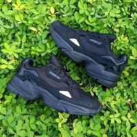 Adidas Falcon original BNWB all black sneakers women