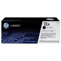 Original Toner HP 12A LaserJet 1000/3000 Series Black Crtg ( Q2612A )