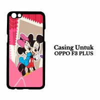Custom Case OPPO F3 PLUS mickey mouse 2 Casing Hardcase Cover