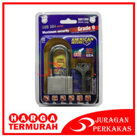 TERMURAH - GEMBOK 50 MM PANJANG AMERICAN SECURE ANTI MALING 50MM LONG