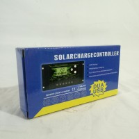 kontrol solar cell - Control cas panel surya 20 A - 2 usb