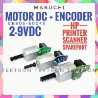 Mabuchi DC Motor (2-9V) plus photo encoder untuk mainan atau sparepart