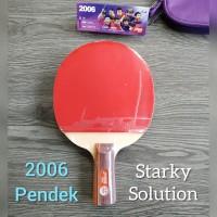 Bet Bat PingPong Tenis meja DHS 2006 Pendek Original