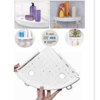 NAL-Home&Living Corner Storage Holder Shelves —Bathroom Punch