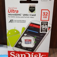 SANDISK ULTRA MICRO SD 32GB A1 98MB/s