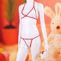 L-271 - Lingerie Bikini Nurse Costume with Variants