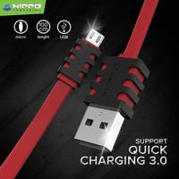 Kabel Data Hippo Caby 3 Micro USB 100 cm Samsung XiaoMi Oppo Vivo Asus