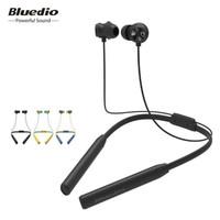 Earphone Bluetooth Bluedio Neckband Headphone T Energy - Kuning