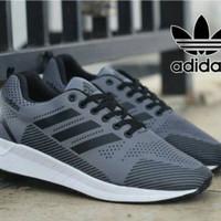 BIG DEAL!!! Sepatu sneakers Pria Termurah Adidas Lis Hitam Size 39-44